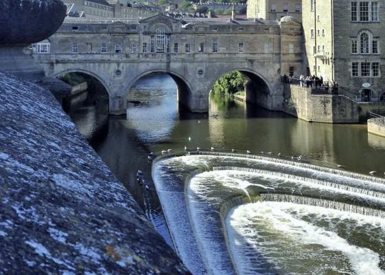 Bath's spectacular views. (PHOTO COURTESY OF SYDNEY THORNELL)