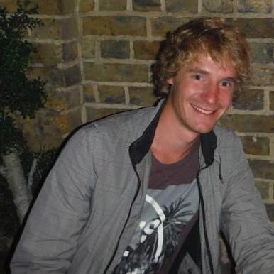 Connor enjoying Camden Town.  (PHOTO COURTESY OF PHOEBE/UNDISCOVERED LONDON)