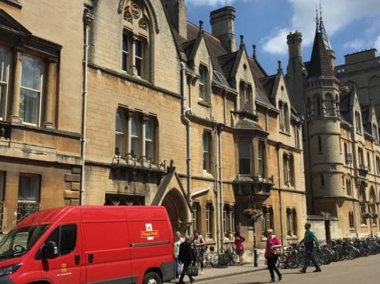 Oxford University (COURTESY OF HANNHA ROESLER)