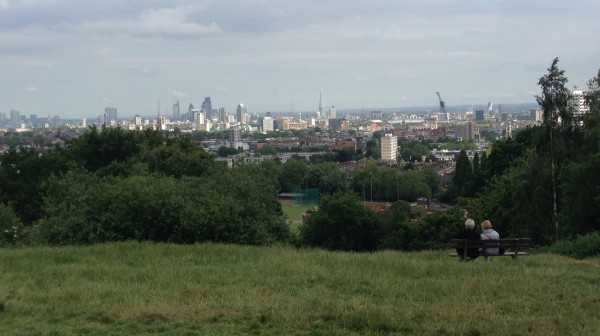 Pictured: Beautiful views from the top of Parliament Hill (PHOTO COURTESY OF SYDNEY CORNELL)