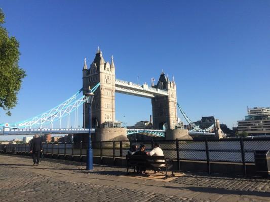 Tower Bridge (PHOTO COURTESY OF MARY MEED)