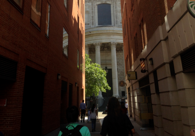St. Paul's Cathedral (COURTESY OF ALI HART)
