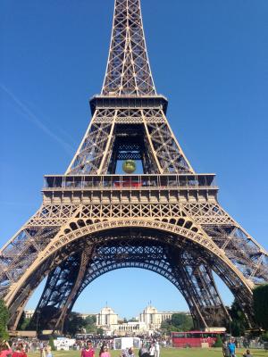 The Eiffel Tower (COURTESY OF ALI HART)