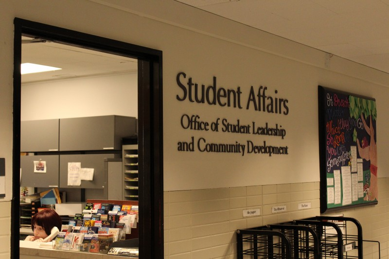 The Student Affairs office at Lincoln Center stands in contrast to it's Rose Hill counterpart for it's accessability, according to Magoon. (CONNOR MANNION/THE OBSERVER)