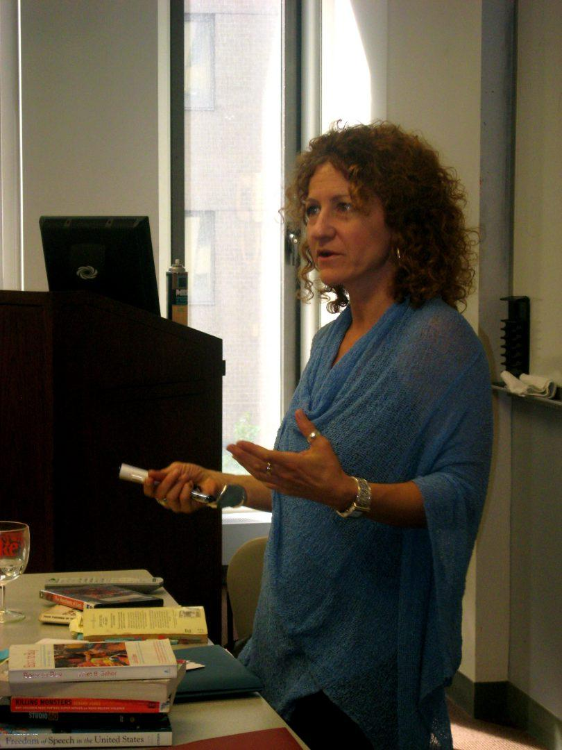 Associate Chair of Communication and Media Studies Gwenyth Jackaway featured above. (OBSERVER ARCHIVES-Angelica Garza)