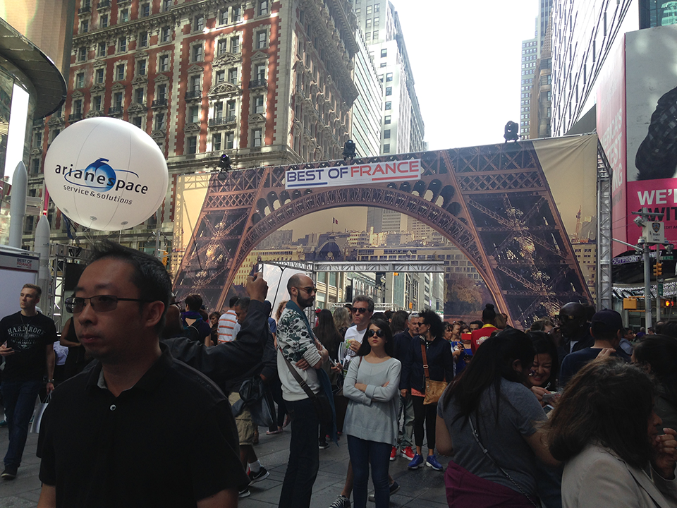 Best of France Festival Kicks Off in Times Square