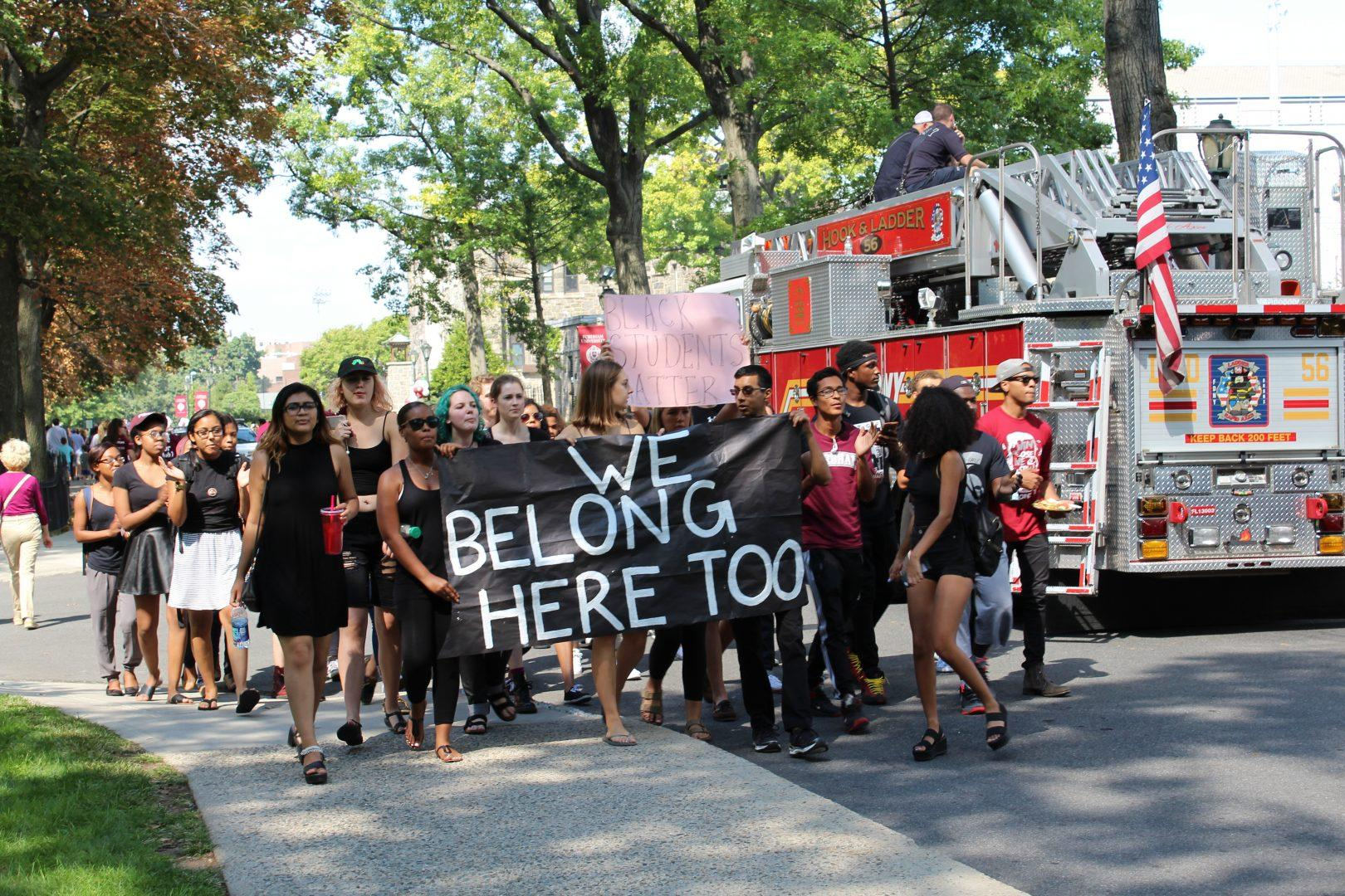 Solidarity March Staged at Rose Hill Homecoming