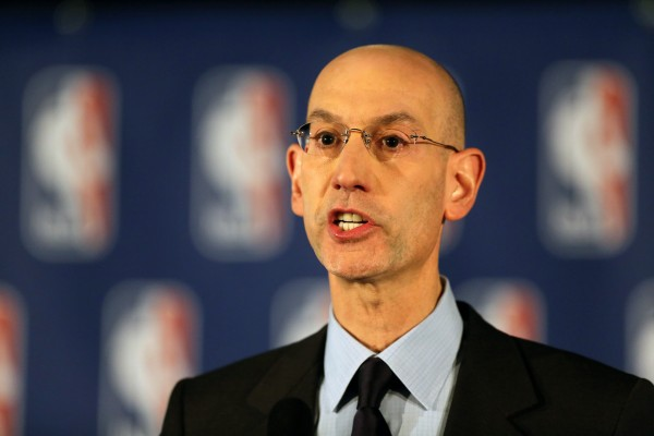 NBA Commissioner Adam Silver understands how sports gambling can be lucrative. (Chris Pedota/The Record/VIA TNS)