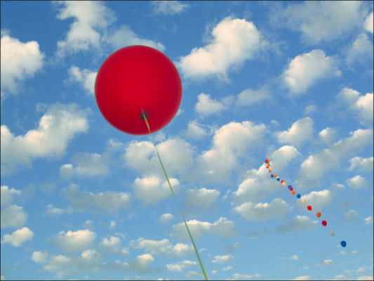 We'll all float on. (PHOTO VIA FLICKR)