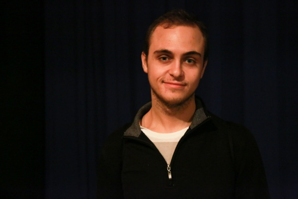 James Marios Ellinas, featured above, wrote and stars in Sleep. (PHOTO BY HANNA KEININGHAM/THE OBSERVER)
