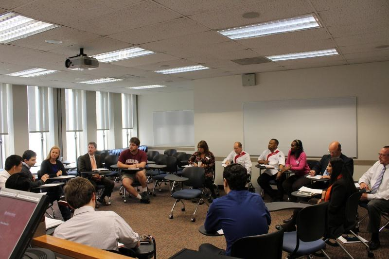The Sodexo meeting  addressed a number of concerns brought to USG by students (CONNOR MANNION/THE OBSERVER)