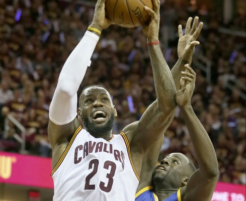 LeBron James is looking to lead the Cleveland Cavaliers back to the NBA Finals this year. (Photo courtesy of Phil Masturzo/ Akron Beacon Journal via TNS)