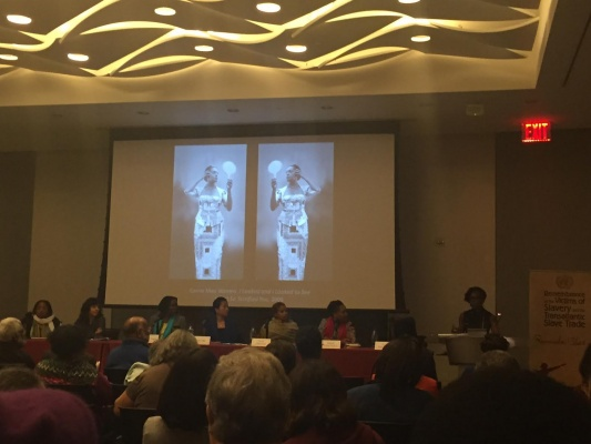 Fordham students attended a panel on Women, Creativity and Memory of Slavery (SRI STEWART/ THE OBSERVER)