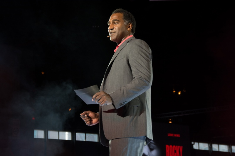 Norm Lewis performing at the IPW NYC Center Stage Luncheon last year. (COURTESY OF DWAYNE KHAN/ IMAGINE COMMUNICATIONS VIA FLICKR)