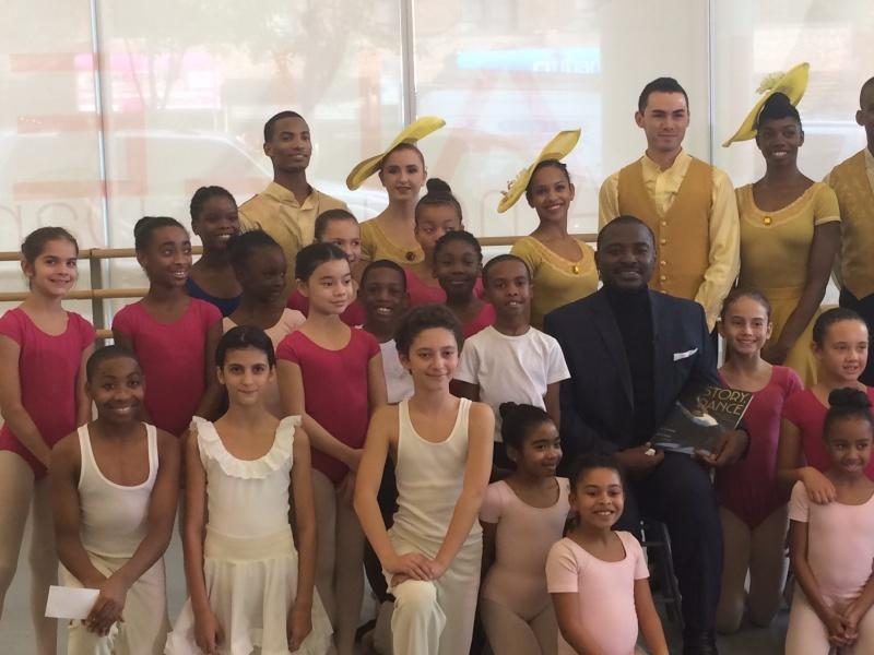 Alvin Ailey Hosts Book Launch Event to Honor Artistic Director Robert Battle
