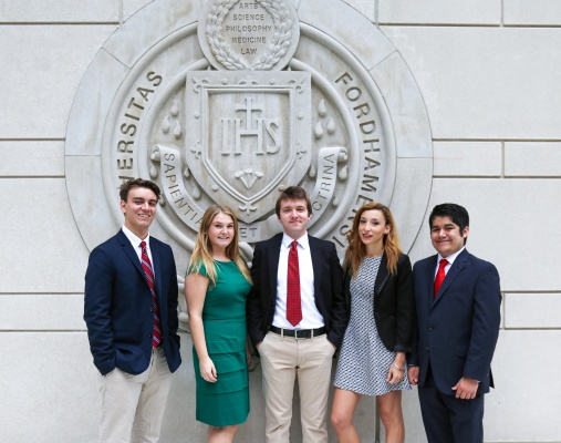 The USG executive board, pictured above, is part of the council, along with Freedman and Faye-Smith. (HANA KEININGHAM/THE OBSERVER)