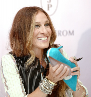 Actress Sarah Jessica Parker was the star of Darren Star's TV series, Sex in the City. Star discussed this series and his other works while at Fordham University.  (Olivier Douliery/Abaca Press/MCT)