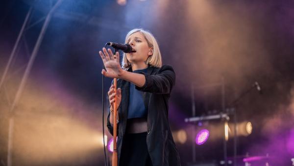 Norwegian folk/Indie pop singer AURORA (via Flickr)