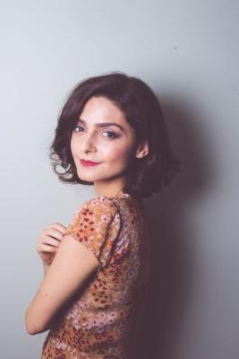 Ariella Mastroianni plays Rebecca is SIXTY DAYS at Cherry Lane Theatre. (PHOTO BY CATHERINE POWELL / COURTESY OF ARIELLA MASTROIANNI)