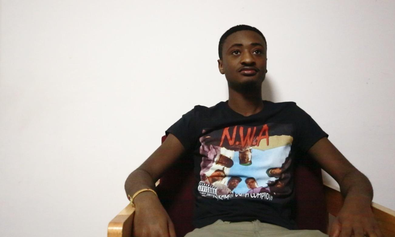 In the name of research, Jalen Glenn woke up every day and would listen to a new album (JESSE CARLUCCI/THE OBSERVER)