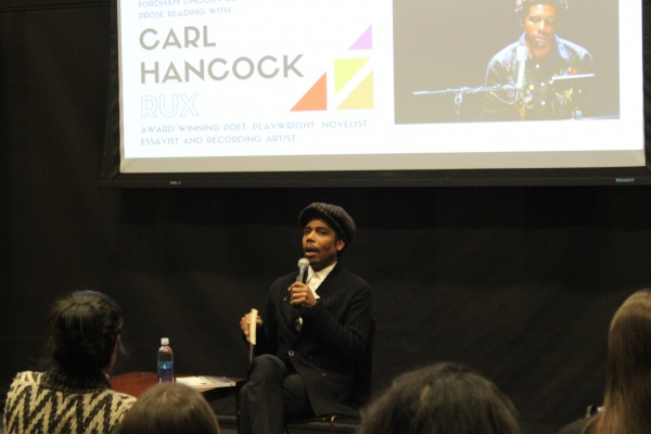 An Evening With Carl Hancock Rux
