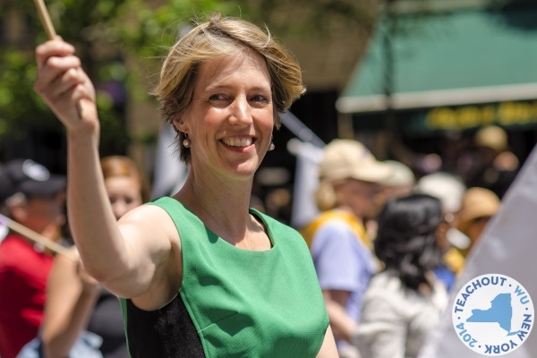 Zephyr Teachout, associate professor at Fordham Law, previously ran against current NY governor Andrew Cuomo (Digital Media via Flickr)