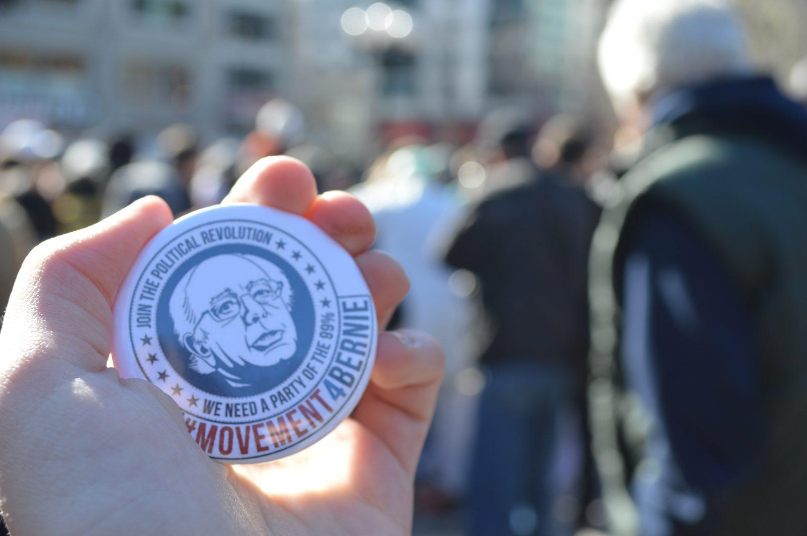 Fordham4Bernie Brings Students to March for Bernie Sanders