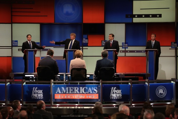 The race for the Republican nomination has ultimately boiled down to Donald Trump, Ted Cruz, Marco Rubio, and John Kasich.  (SALWAN GEORGES-DETROIT FREEPRESS VIA TNS)