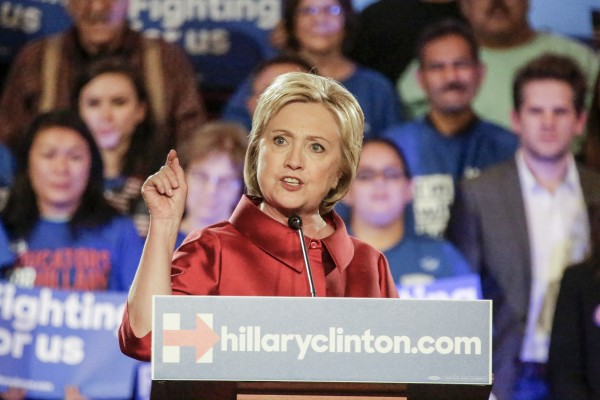 Hillary Clinton frequently draws attention to her sex in order to gain the support of female voters. (Irfan Khan/Los Angeles Times/TNS)