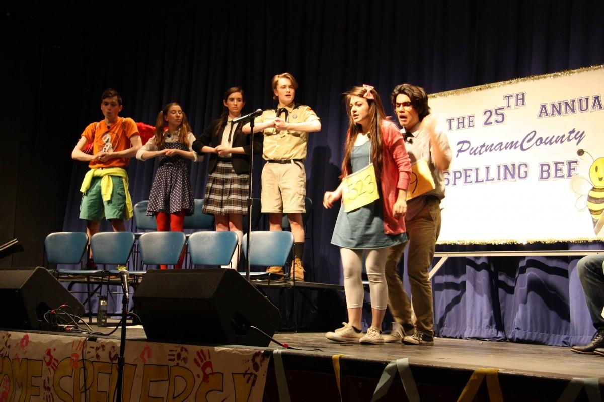 Members of the Splinter Group performed in the club's Spring show. (PHOTO COURTESY OF ALEX COURRIDES)