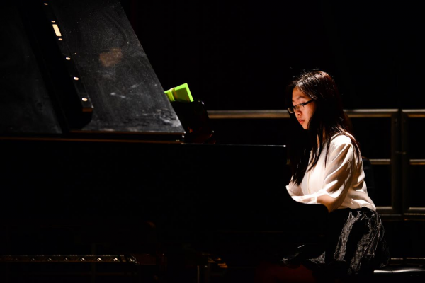 Lucia Zhou has practiced piano since the age of 5. (PHOTO COURTESY OF LUCIA ZHOU)