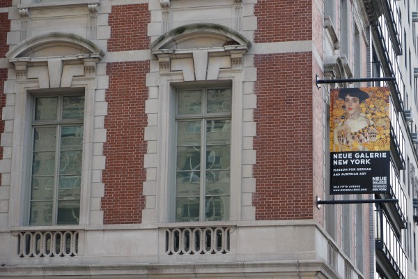 The Neue Galerie is located on 5th Ave between 85th and 86th street. (COURTESY OF JOHANNES ORTNER VIA TNS)