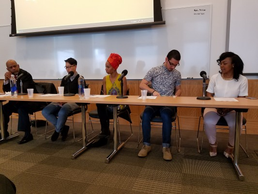 Panelist discuss what it means to be anti-racist. (PHOTO BY  PARDEEP CATTRY/THE OBSERVER)
