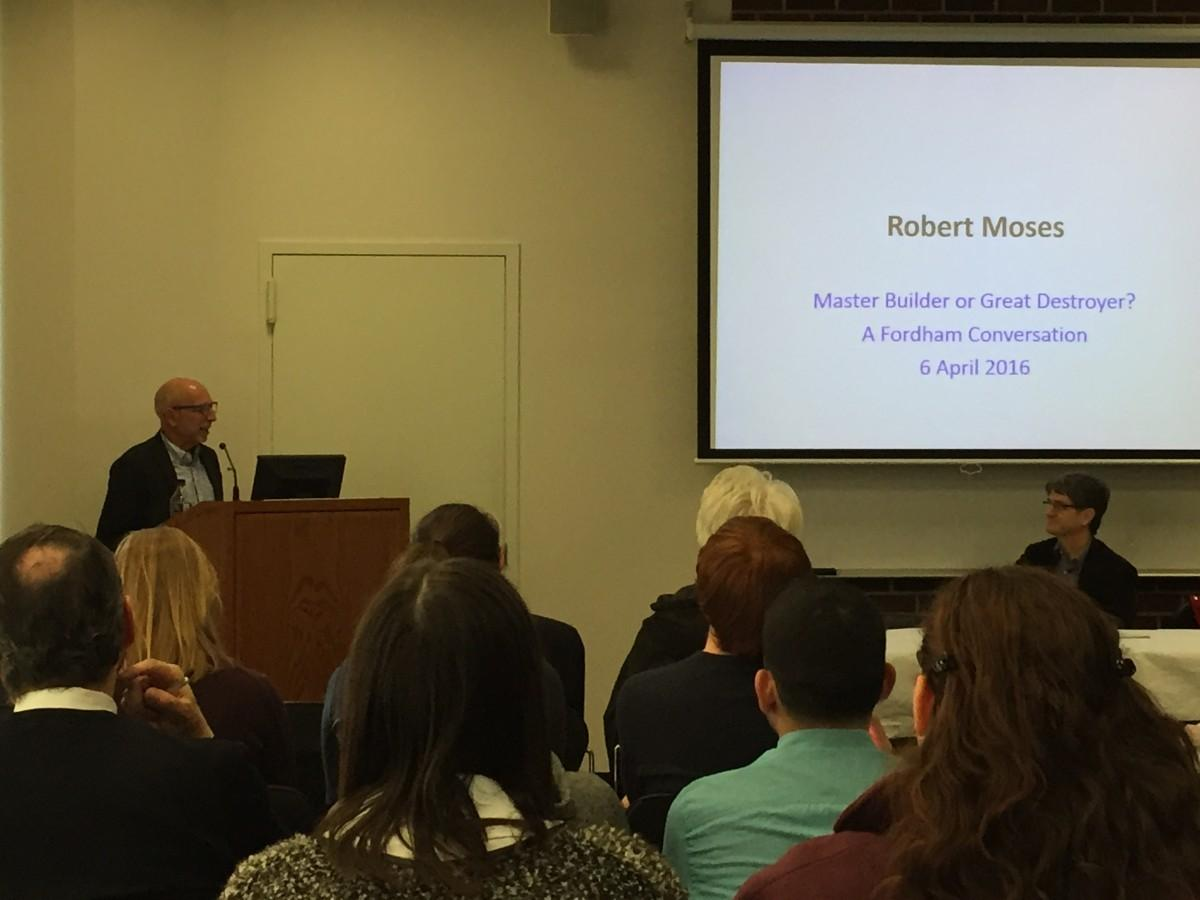 Fordham Discusses Robert Moses' Legacy