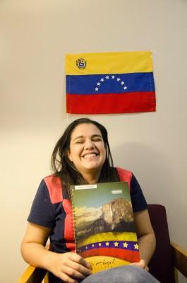 Andrea+Arizaleta+Valera%2C+FCLC+%2717%2C+originally+from+Caracas%2C+Venezuela.+%28PHOTO+BY+ANDRONIKA+ZIMMERMAN%2FTHE+OBSERVER%29