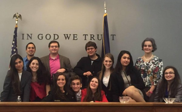 Fordham Mock Trial will be attending the National Championship at Furman University in South Carolina. (COURTESY OF NEILAB RAHIMZADA)
