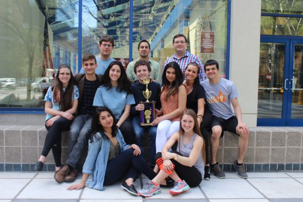 The 2015-2016 mock trial team placed sixth in their division at the National Championship Tournament. (PHOTO COURTESY OF  FORDHAM LC MOCK TRIAL)