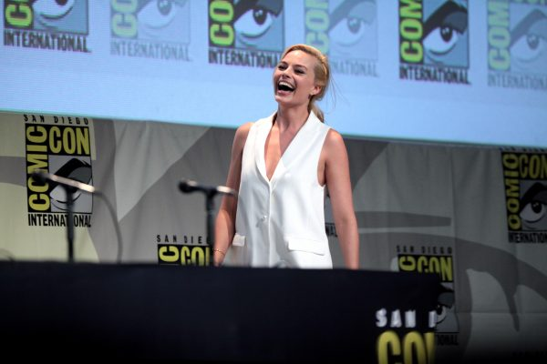 Margot Robbie promoting suicide Squad at the 2015 San Diego Comic Con.(PHOTO COURTESY OF GAGE SKIDMORE VIA FLICKR)