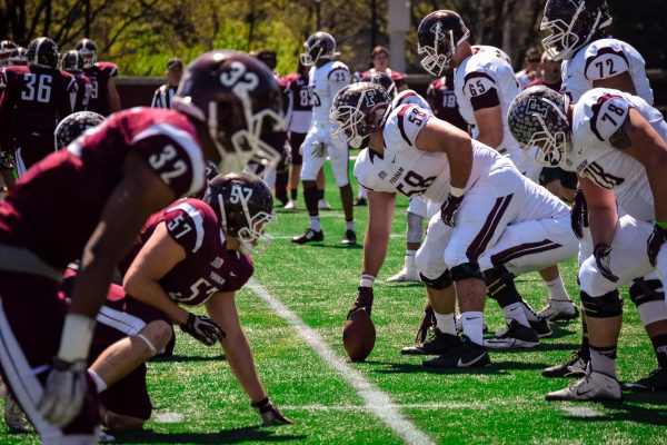 After practicing all summer Fordham's football team hopes to continue its recent run of success. (PHOTO BY: ANDREA GARCIA/THE OBSERVER)