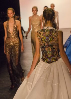 Aspiring fashion professionals look to New York Fashion Week (NYFW) for inspiration. (ANDRONIKA ZIMMERMAN/THE OBSERVER)