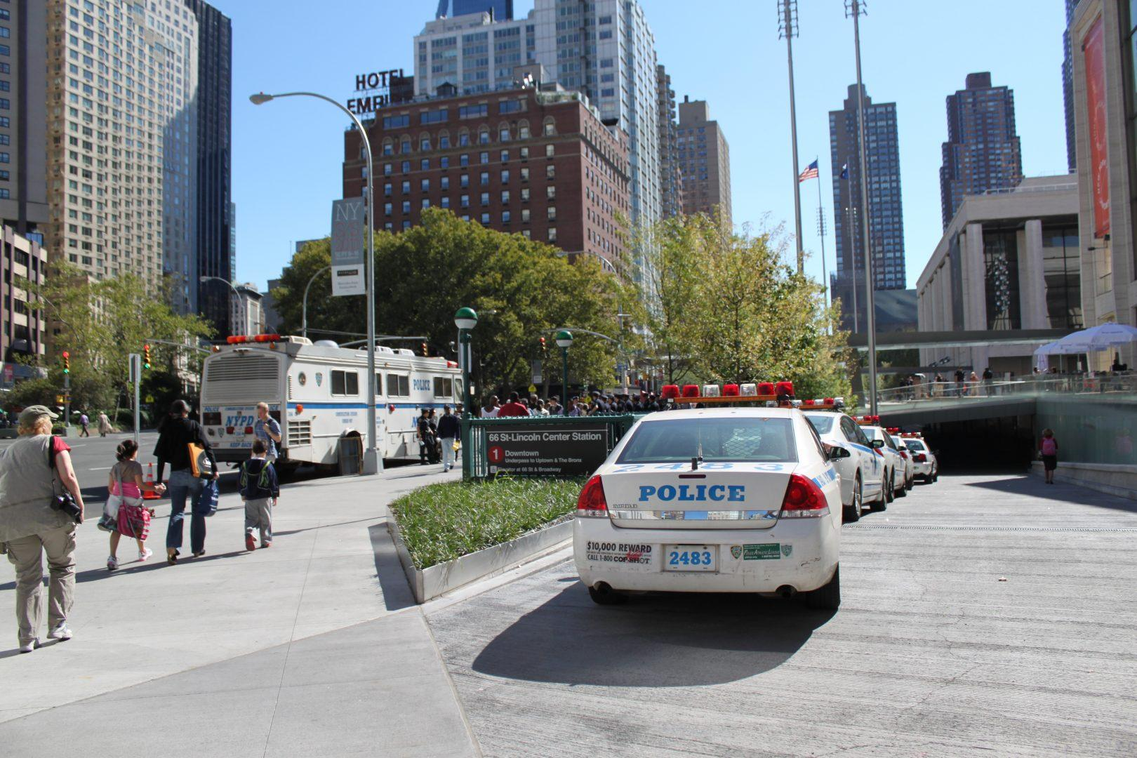Fordham Public Safety is prepared for any emergency scenario. (JON BJORNSON/THE OBSERVER)