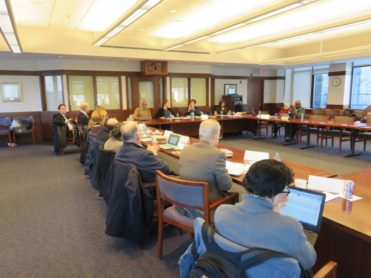 Faculty Senate convening in early February. Members have recently spoken out against the imposition of an unapproved salary raise. (PHOTO BY STEPHAN KOZUB/THEOBSERVER