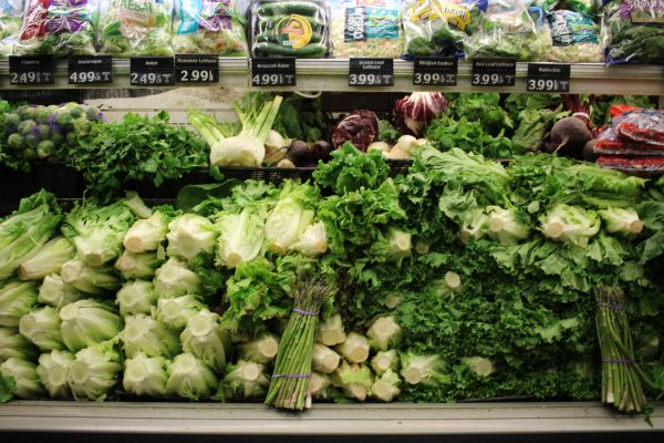 Students can look towards purchasing more healthy groceries off campus. (JESS LUSZCZYK/THE OBSERVER)