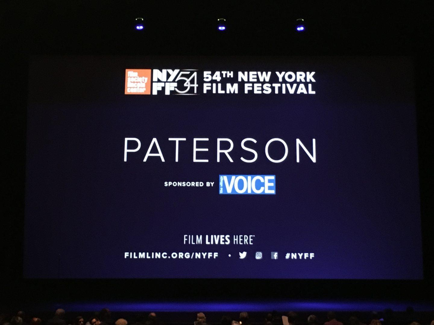 """Paterson"" is NYFF's Hidden Gem"