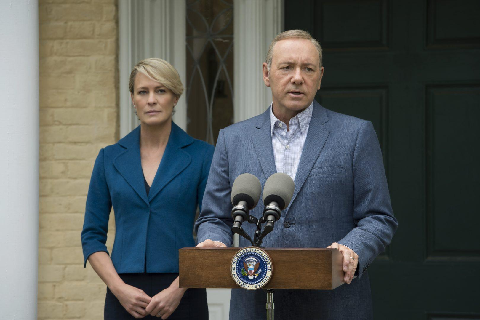 "Robin Wright stars as Claire Underwood on Netflix's ""House of Cards"". (HOUSE OF CARDS/COURTESY OF NETFLIX)"