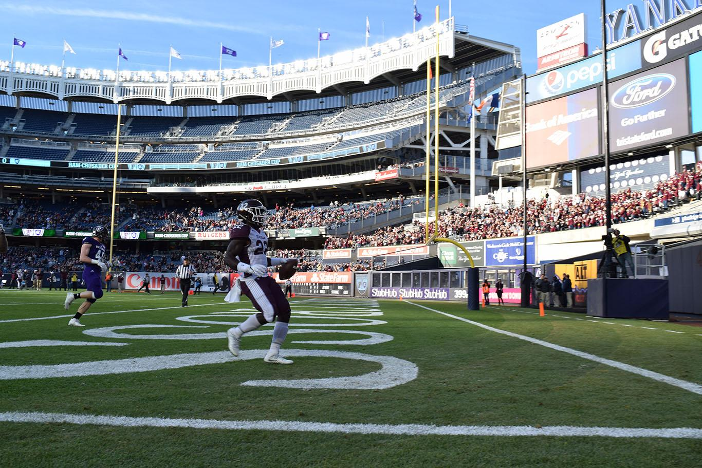 Rams Crush Crusaders at Yankee Stadium