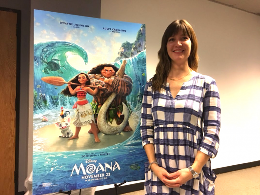 Julius organized research trips throughout Oceania for the movie's creative team and animators. (MARYANNA ANTOLDI/THE OBSERVER)