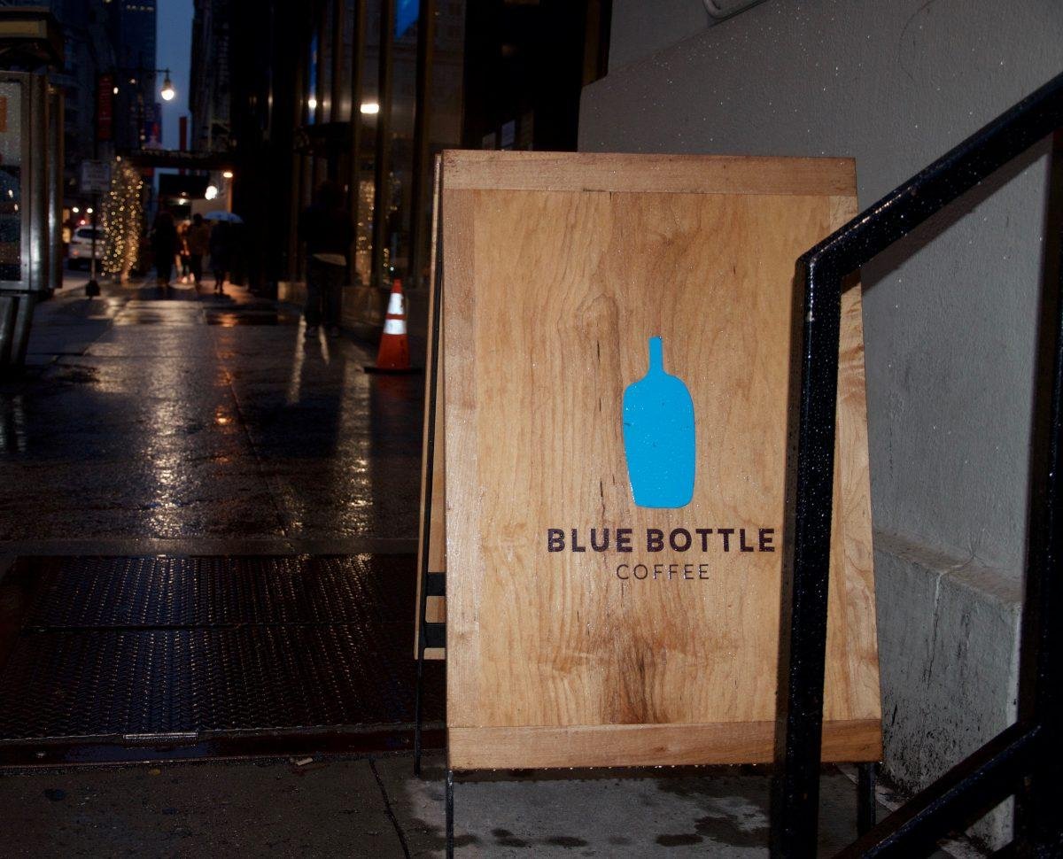 Blue Bottle Coffee, a Fordham favorite, offers quality coffee and an ideal studying environment. (JULIET ALTMANN/The Observer)
