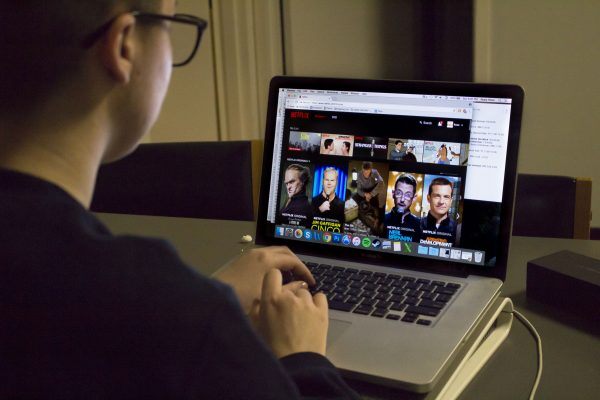 Internet television, like Netflix and Hulu, is making a name for itself.  (ASEAH KHAN/THE OBSERVER)
