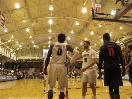 Anderson not only leads Fordham on the court, but also in the classroom. (JILLIAN JAYMES/THE OBSERVER)